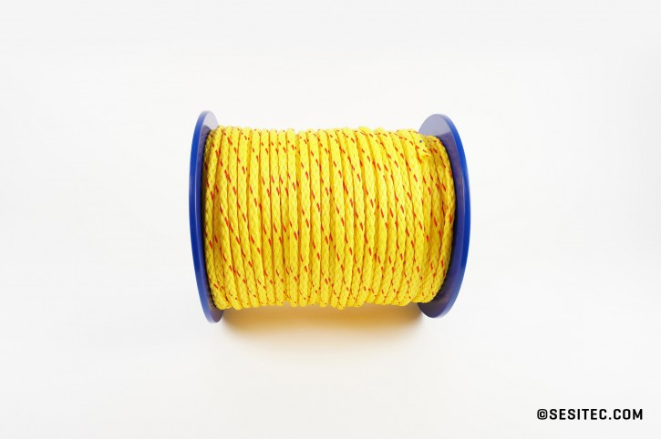 Rope 200m red/yellow