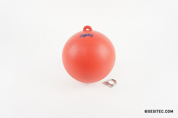 sl.Buoy red with shackle