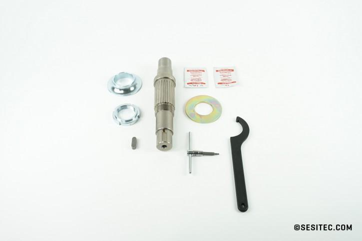 sl.Shaft Coupling drive with splined shaft/key slot